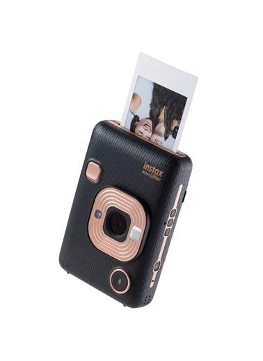 Fujifilm Instax mini LiPlay Hybrid Elegant Black Fotoğraf Makinesi Hediye Seti 2 Siyah
